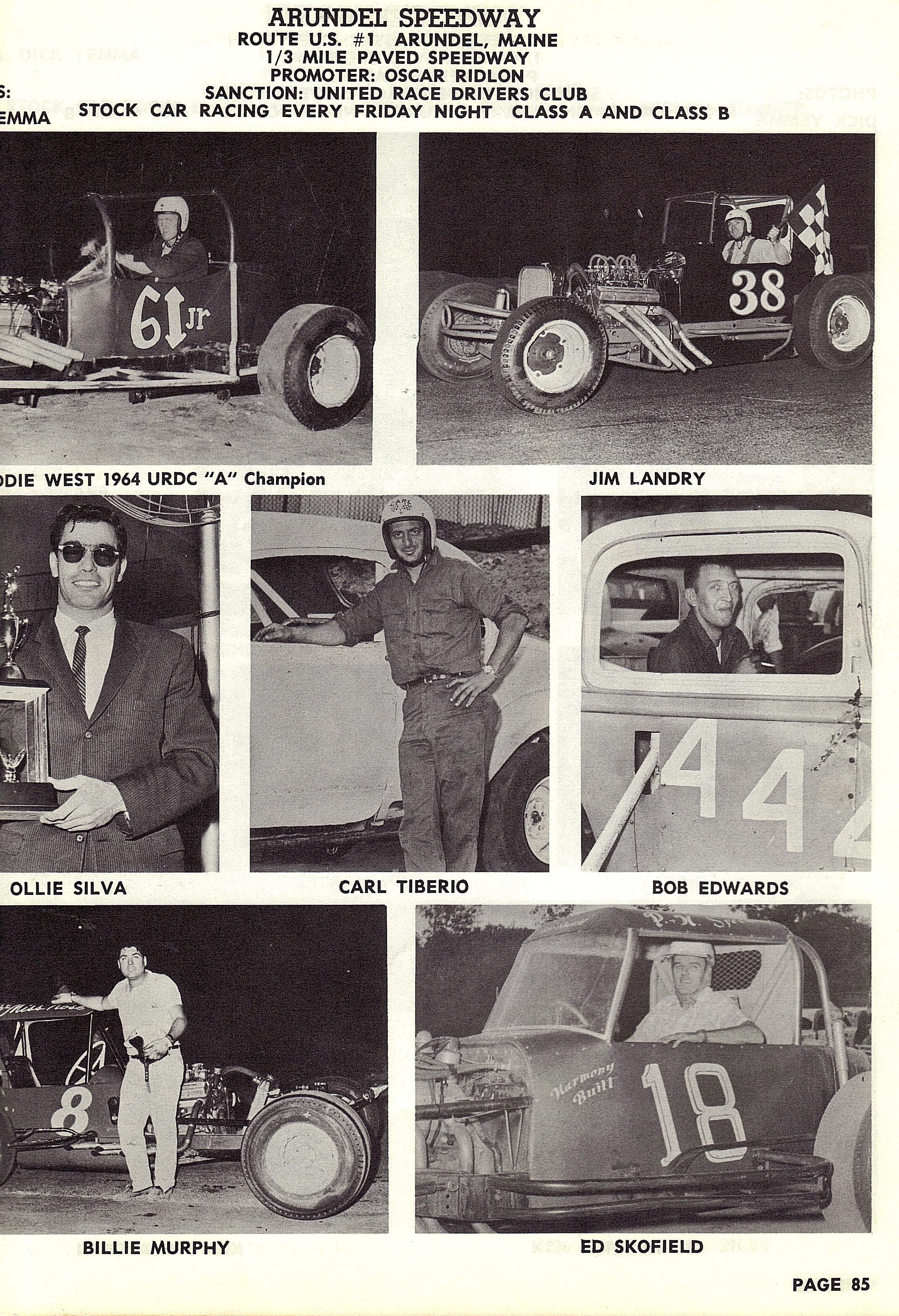 MAINE RACE TRACKS