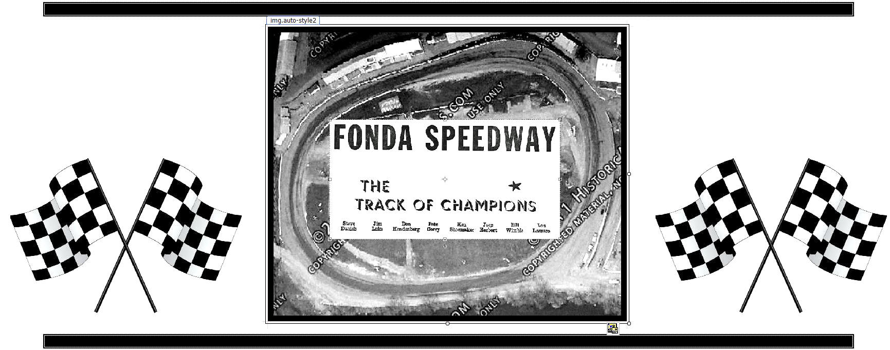 FONDA SPEEDWAY A Premier Track in New York Whose Drivers Often Drove ...