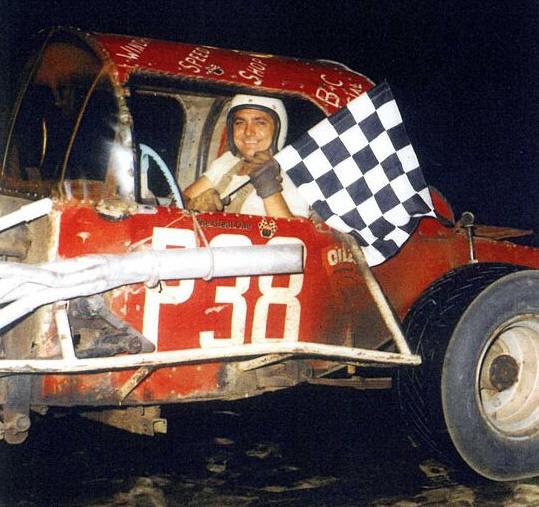 Homer Drew Race Car Driver